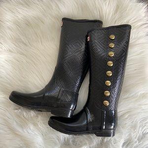 Limited Edition Hunter Regent Grosvenor Rain Boots